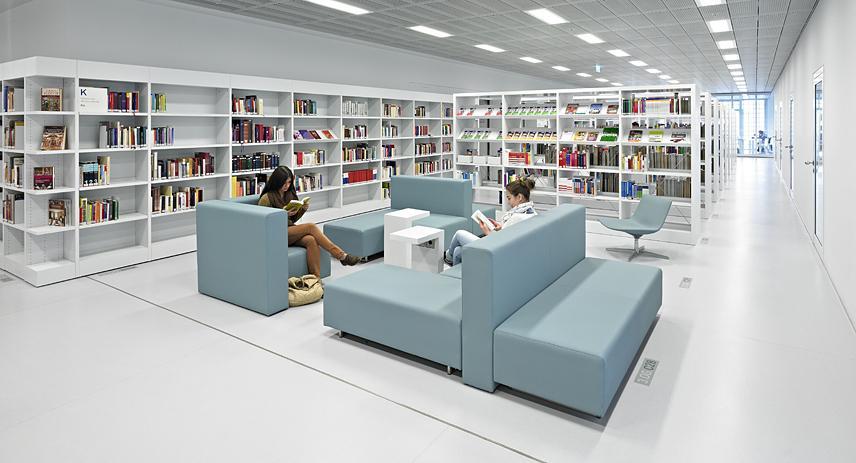 stuttgart city library totems. Black Bedroom Furniture Sets. Home Design Ideas